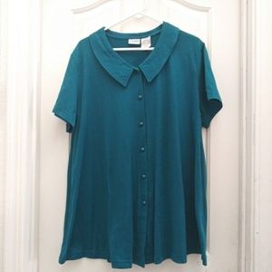 NWOT 90s maternity shirt/dress